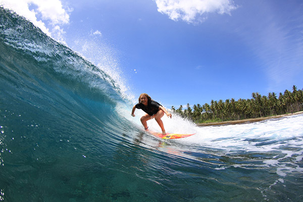 Sumatra: Aura Surf Resort
