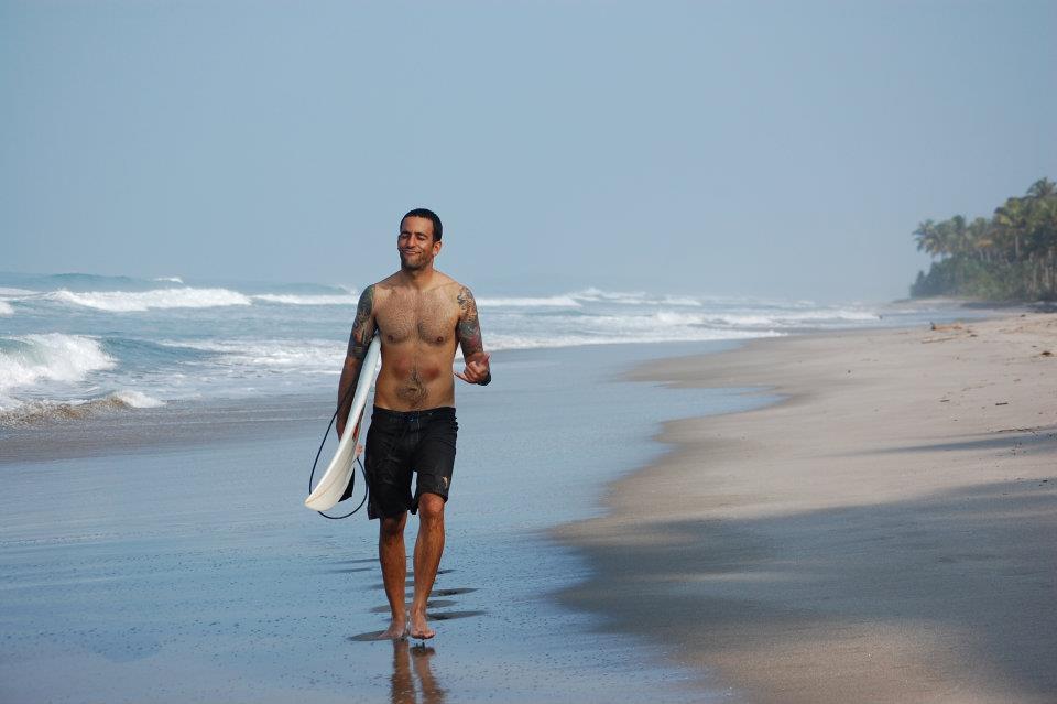 danny on beach